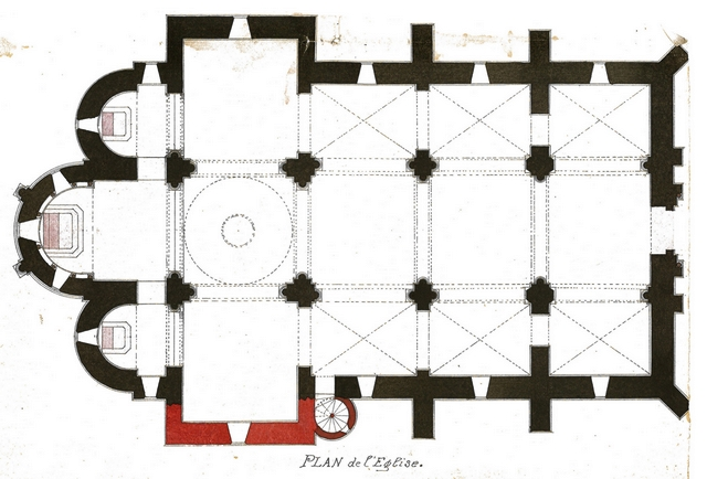 PLAN EGLISE