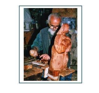 Visite Atelier de sculpture sur bois et peinture