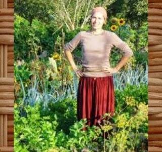 Visite d'un jardin en maraichage bio